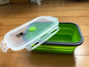 customized microwavable silicone lunch box holder corporate gifts with logo