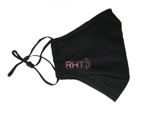 customized reusable cotton masks with logo printing